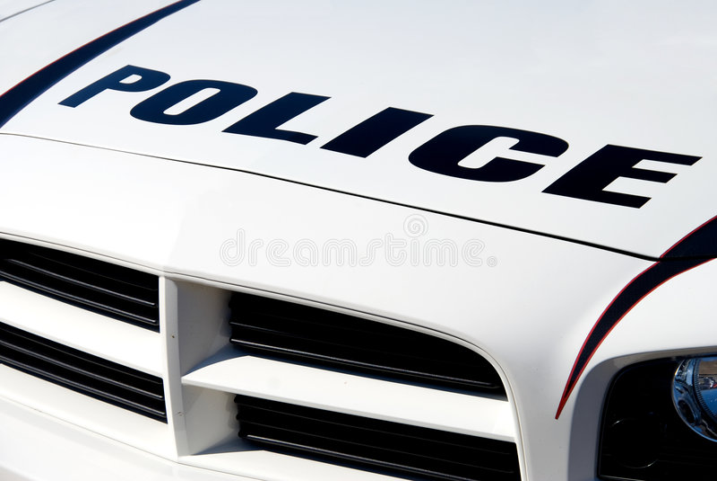 Coche Policía Fotos de archivo libres de regalías