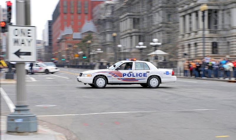Coche policía del Washington DC II. fotos de archivo