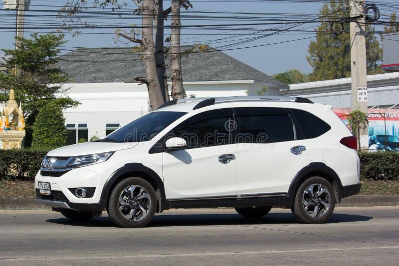 Coche privado, coche de Suv de la ciudad de Honda BRV imagen de archivo libre de regalías