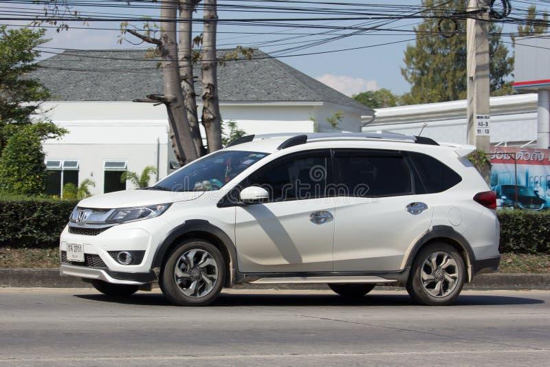 Coche privado, coche de Suv de la ciudad de Honda BRV imagenes de archivo