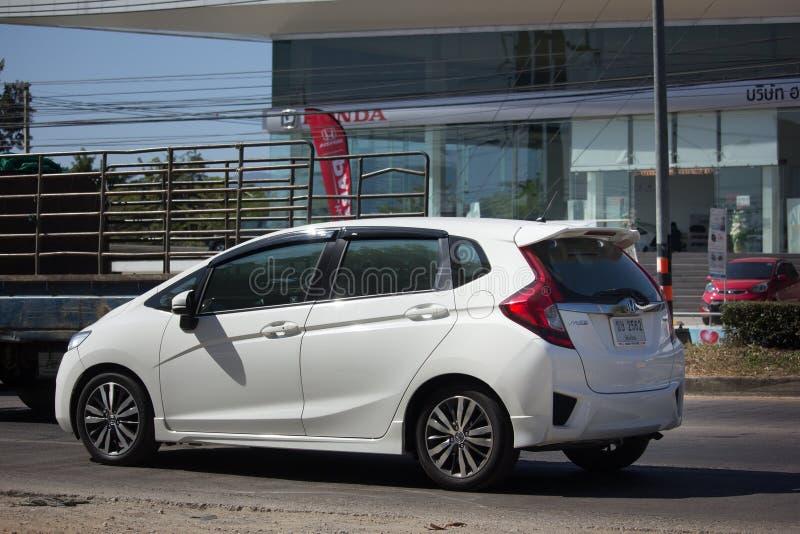 Coche privado Honda Jazz Hatchback de la ciudad fotografía de archivo