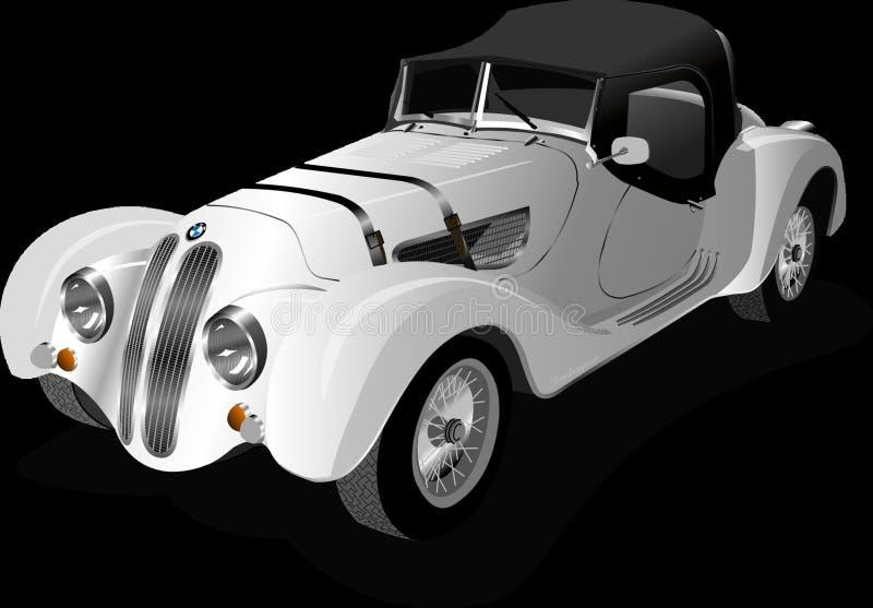 Coche, veh?culo de motor, veh?culo, coche del vintage imagen de archivo libre de regalías