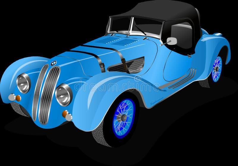 Coche, veh?culo de motor, veh?culo, coche del vintage imagen de archivo