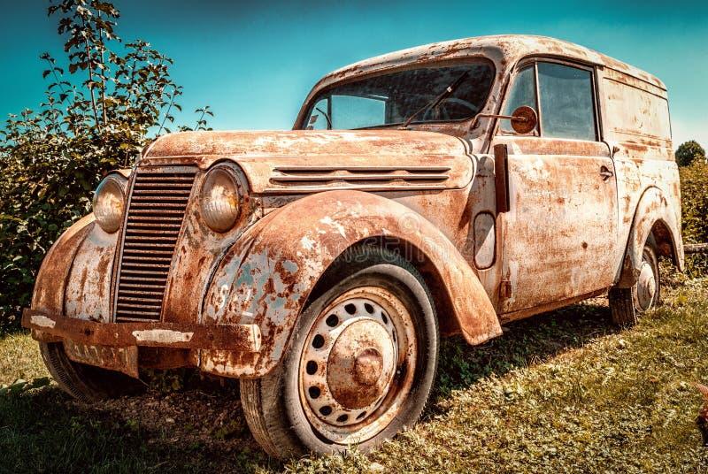 Coche, veh?culo de motor, veh?culo, coche del vintage foto de archivo libre de regalías