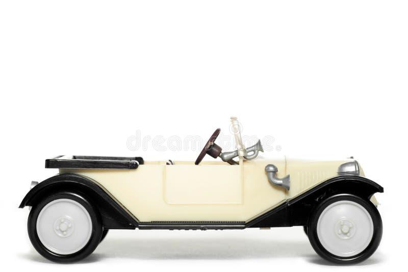 Coche viejo Tatra 11 Faeton del juguete fotografía de archivo