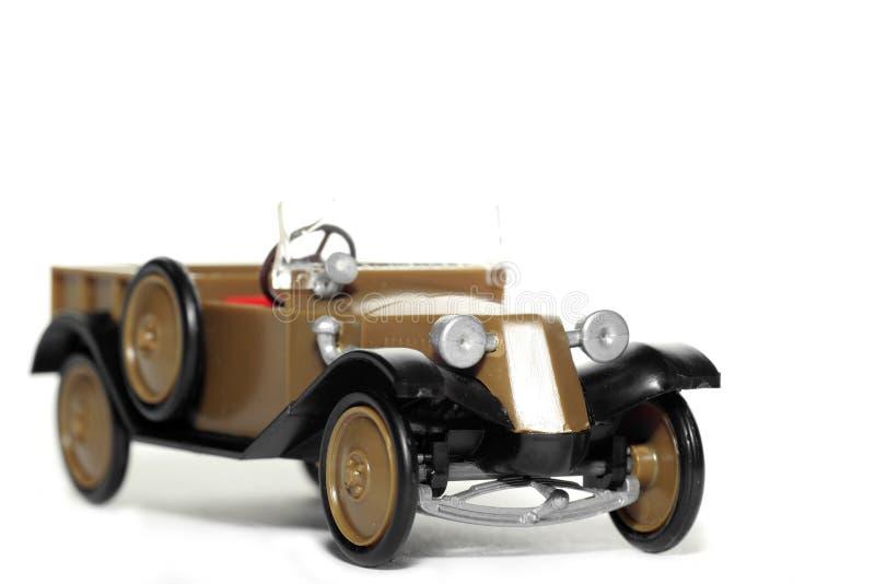 Coche viejo Tatra 11 Normandie del juguete imágenes de archivo libres de regalías
