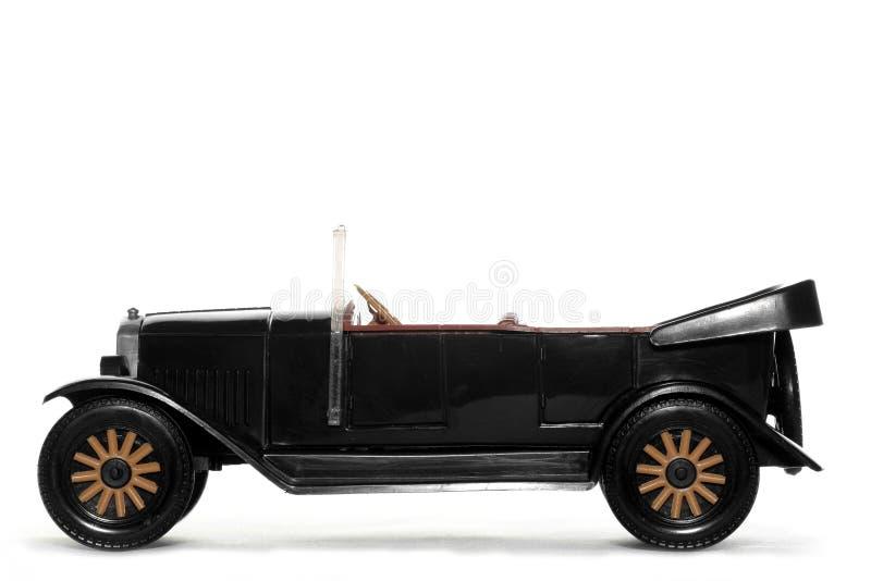 Coche viejo Volvo Jacobo 1927 del juguete imagen de archivo