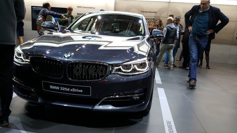 Coche VIP de BMW limitado fotografía de archivo libre de regalías