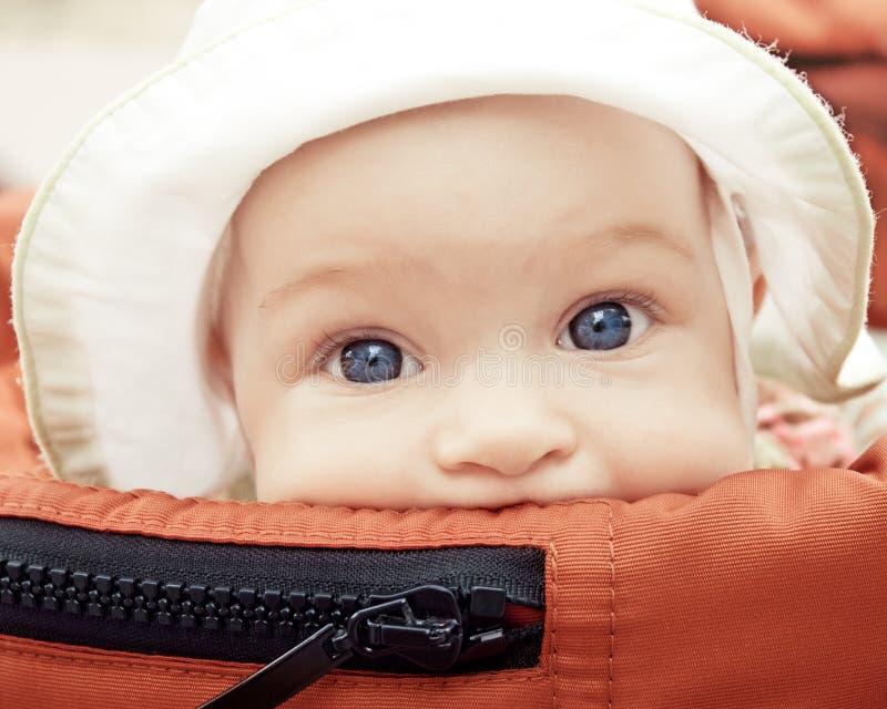 Cochecillo de bebé foto de archivo