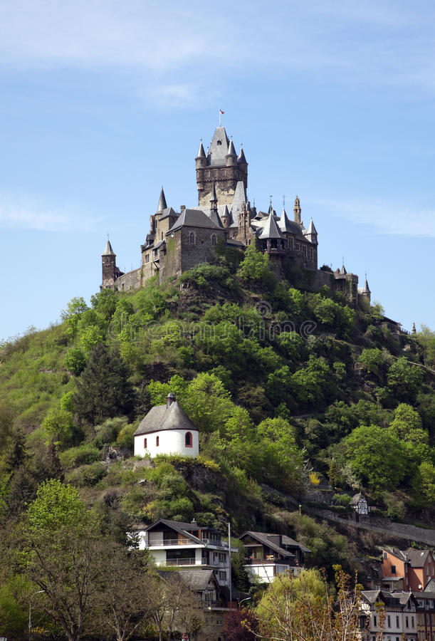Cochem Castle royalty free stock images