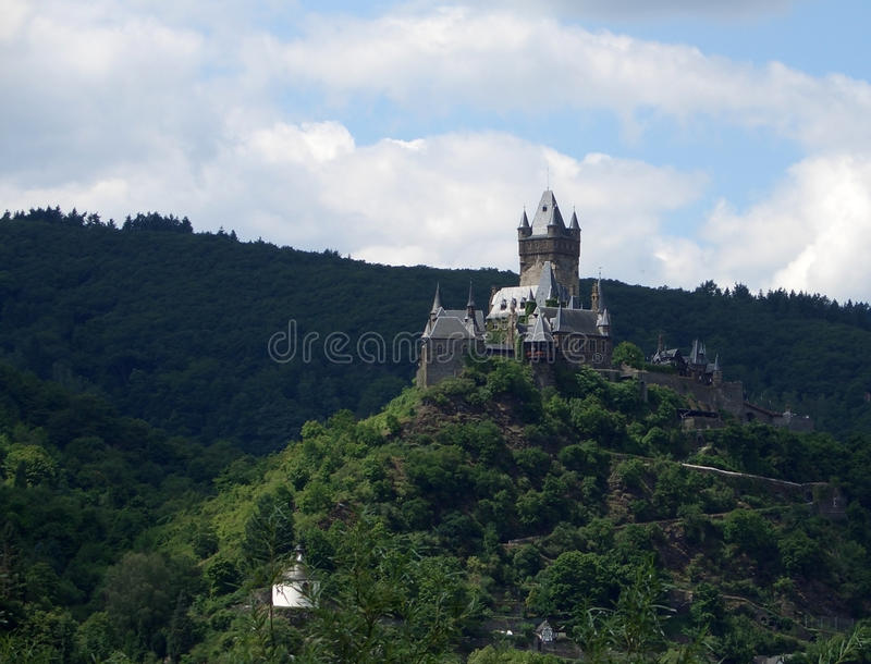 Download Cochem Castle On Mountain Top Stock Photo - Image: 26004582