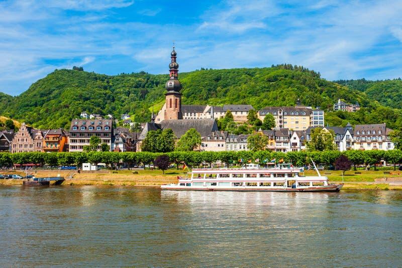Cochem stary miasteczko w Niemcy zdjęcie royalty free