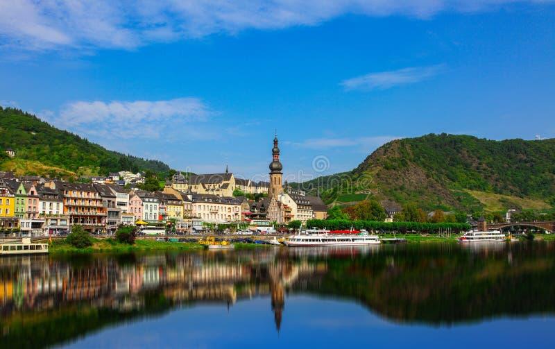 Cochem sur la Moselle en Allemagne photographie stock