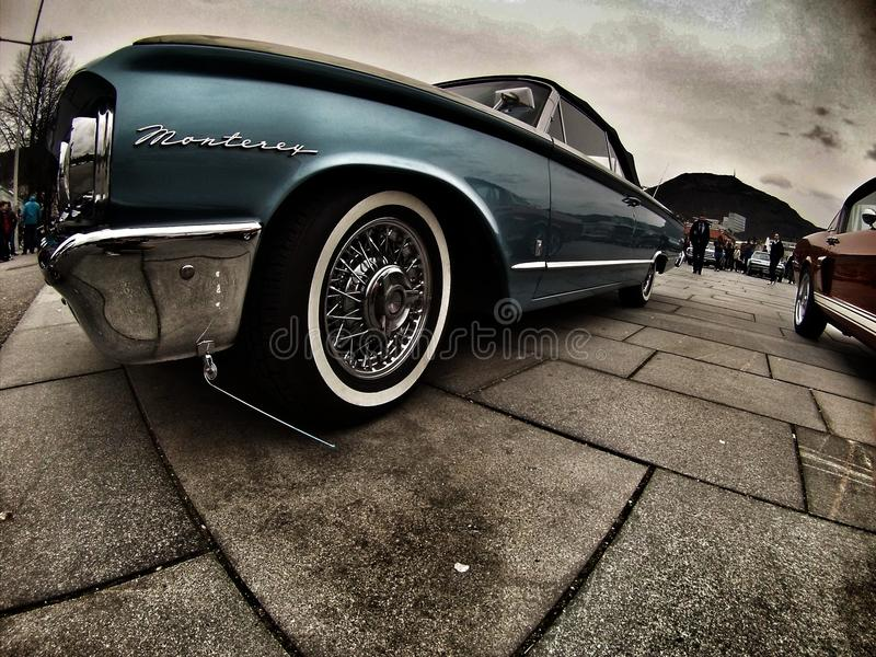 coches biutiful de América del coche de Noruega de la compra de la foto foto de archivo libre de regalías