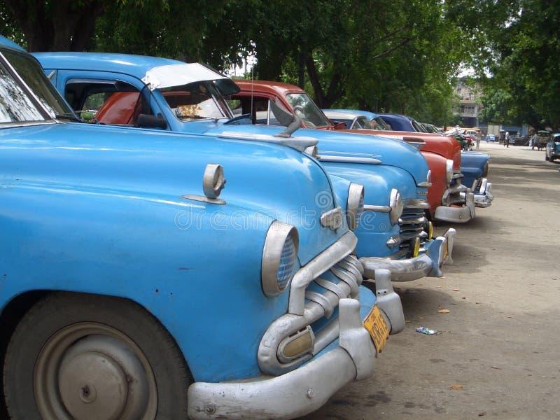 Coches cubanos imágenes de archivo libres de regalías