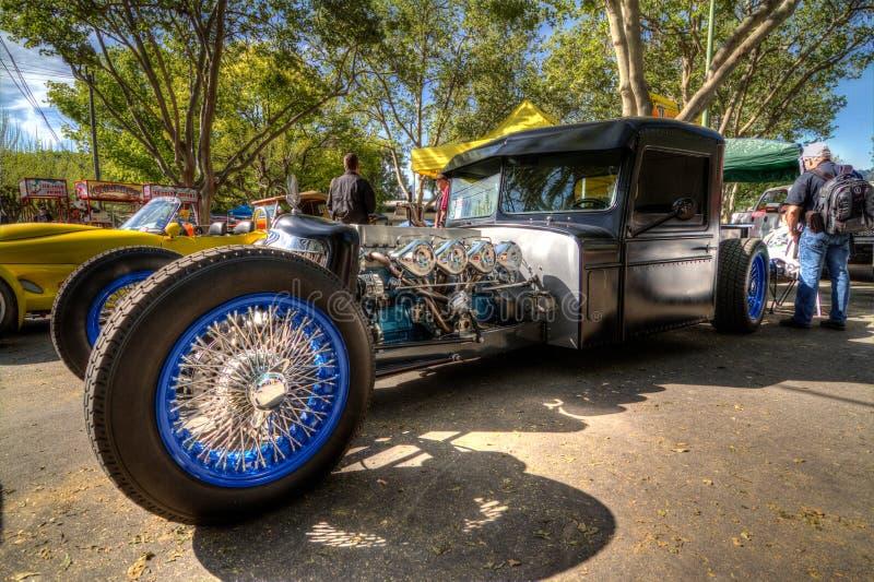 Coches de carreras de encargo del automóvil descubierto fotos de archivo