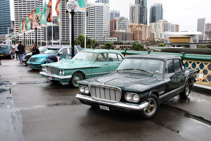 Coches de Chrysler imagen de archivo
