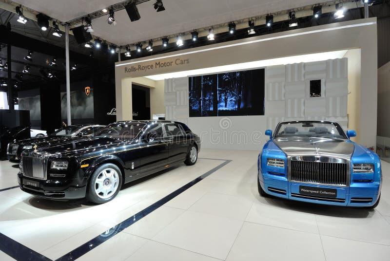 Coches de Rolls Royce fotos de archivo libres de regalías