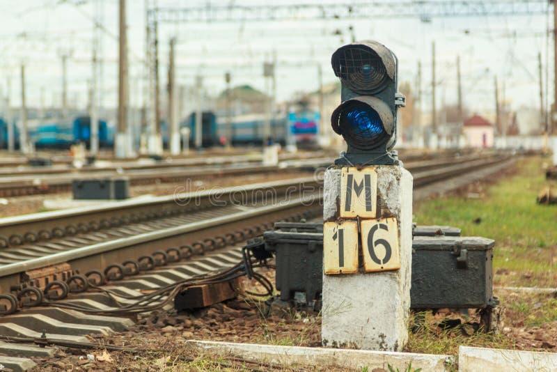 Coches de tren en el estacionamiento foto de archivo libre de regalías