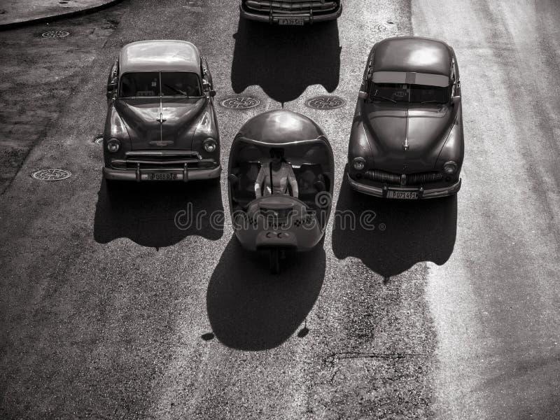 Coches del vintage, Havana Fantasy fotos de archivo