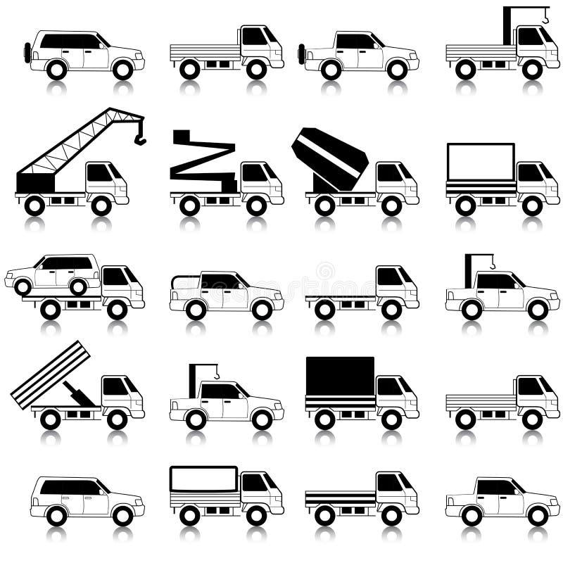 Coches, vehículos. Carrocería de coche. stock de ilustración