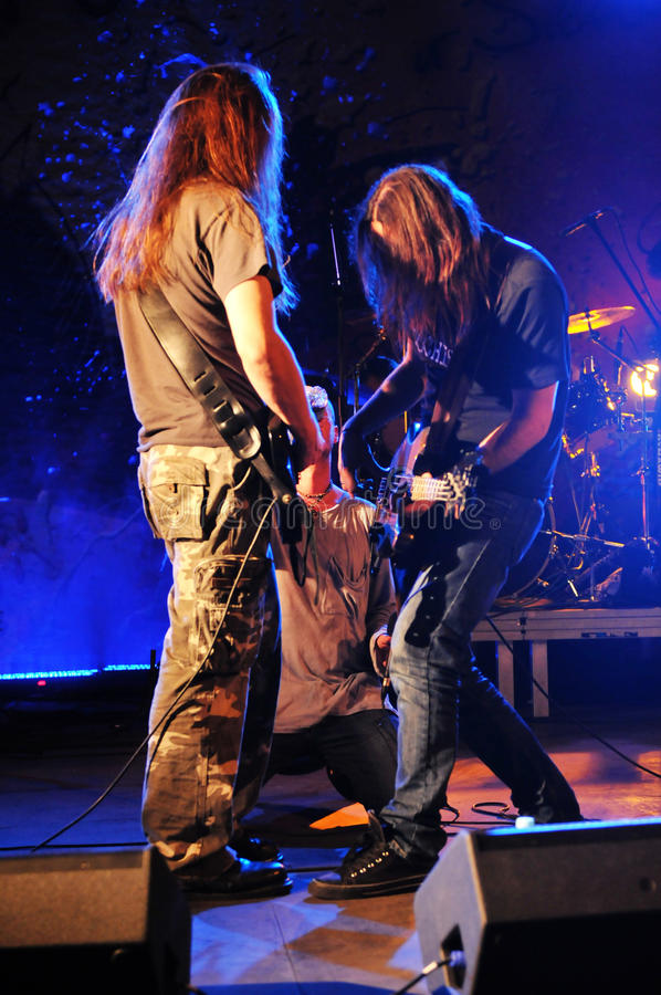 Download Cochese - Rock Band On Stage Editorial Photography - Image: 26872562