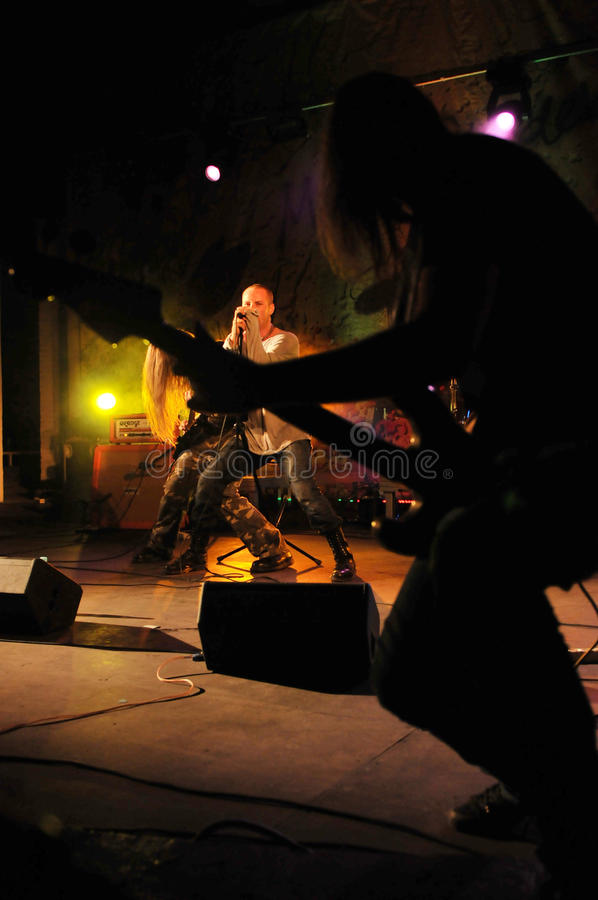Download Cochese - Rock Band On Stage Editorial Photo - Image: 26872876