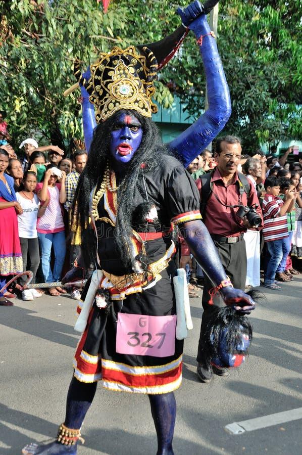Cochin karneval 2015 arkivbild