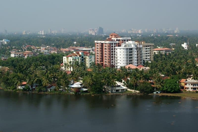 Cochin (kochi), Kerala, India sul imagens de stock royalty free