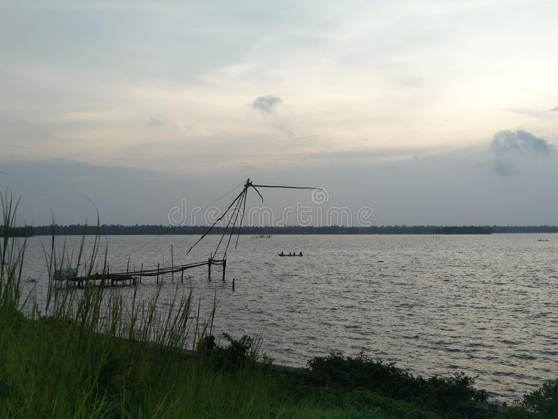 Cochin-Marine-Antrieb stockfotos