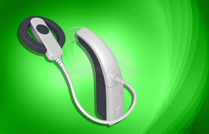Cochlear-Implantat vektor abbildung