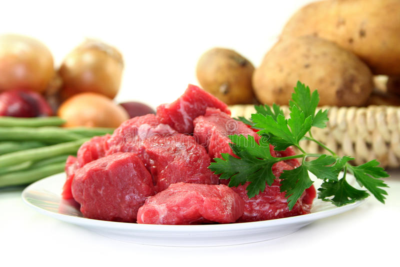 Cocido húngaro de carne de vaca imagenes de archivo