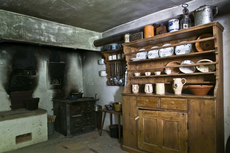 Cocina antigua imagen de archivo. Imagen de llama, dieta - 6030591