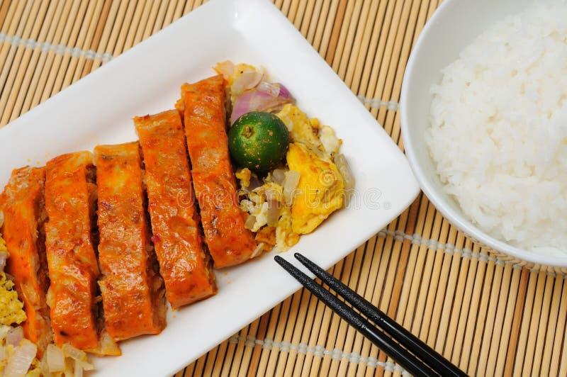 Cocina asiática suroriental creativa fotografía de archivo libre de regalías