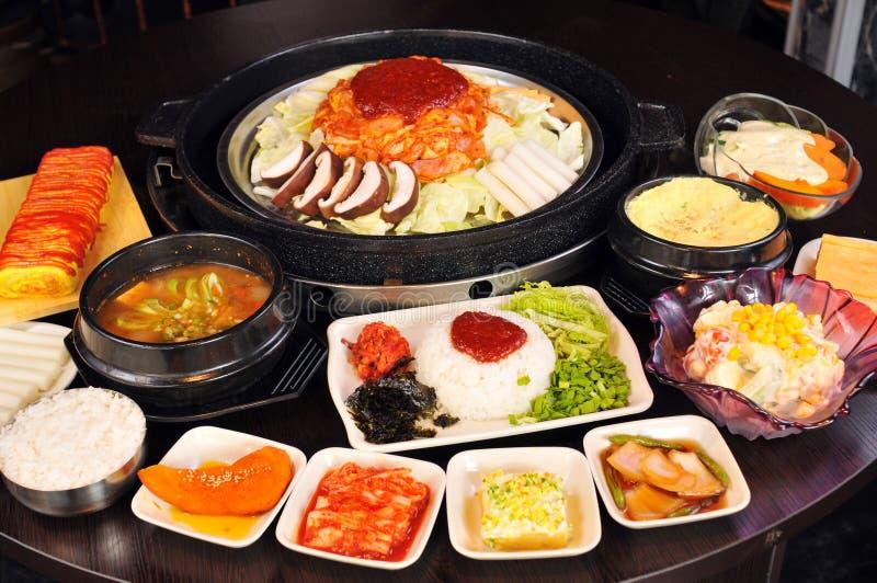 Cocina coreana foto de archivo libre de regalías