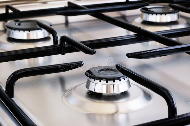 Cocina de gas fotos de archivo