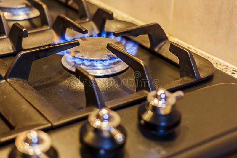 Cocina de gas imágenes de archivo libres de regalías