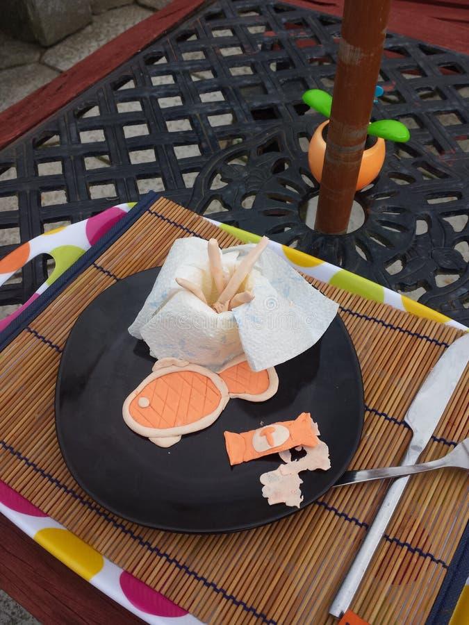 Cocina de la arcilla de modelado imagen de archivo libre de regalías