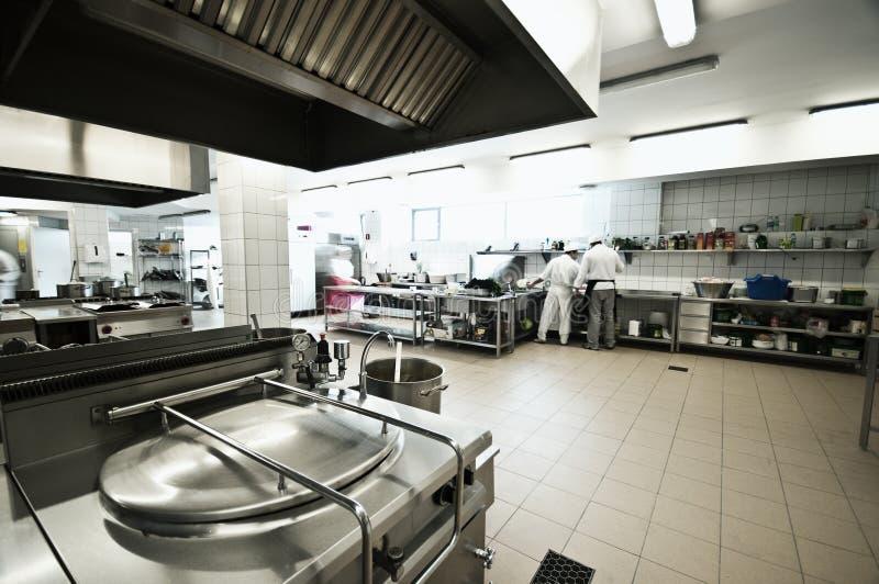 Cocina industrial imagen de archivo libre de regalías
