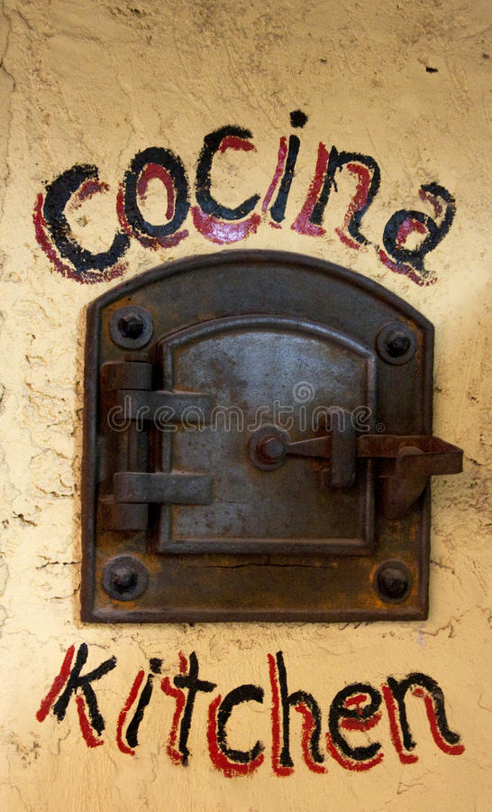Cocina. Interior of a cuisine in Buenos Aires royalty free stock images