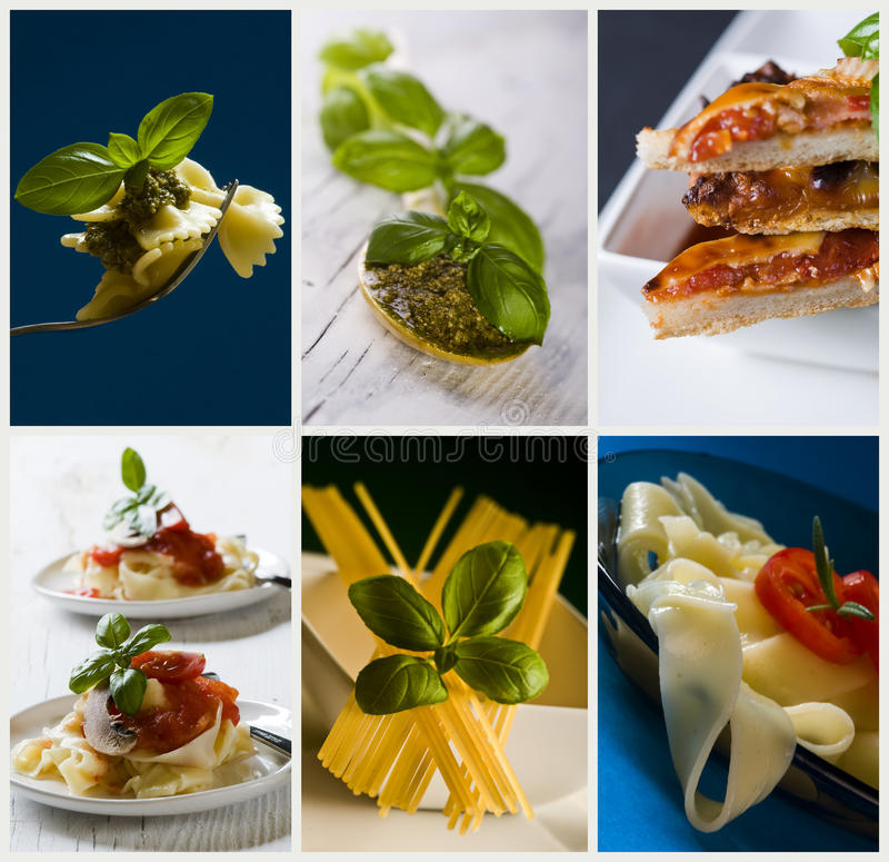 Cocina italiana fotos de archivo