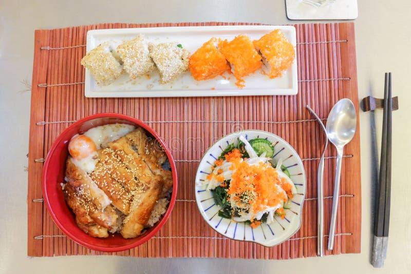 Cocina japonesa fotografía de archivo libre de regalías