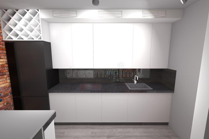 Atractivo Cocina Anchura Diseño Galera Molde - Ideas Del Gabinete de ...