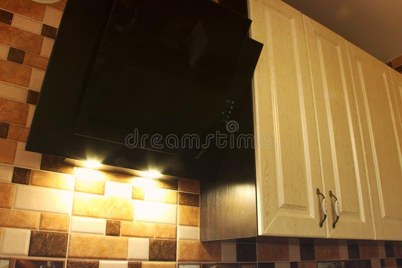 Cocina Muebles en la cocina imagen de archivo