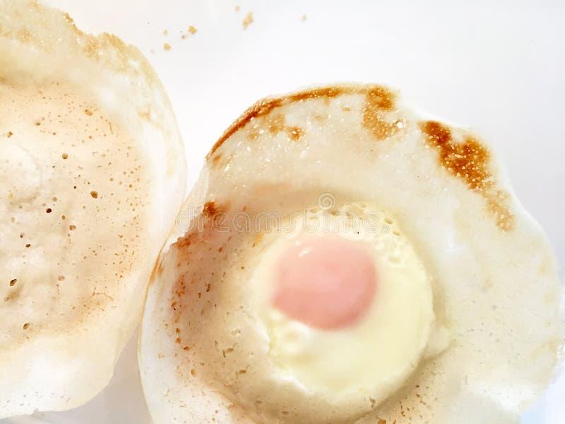 Cocina srilanquesa - tolvas del huevo imagen de archivo libre de regalías