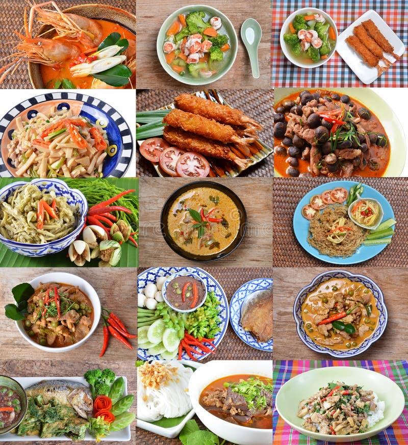 Cocina tailandesa imagenes de archivo