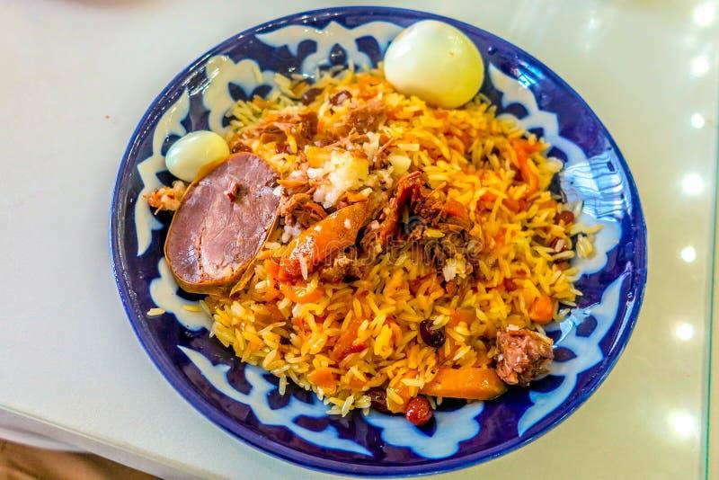 Cocina tradicional 10 del Uzbek fotos de archivo