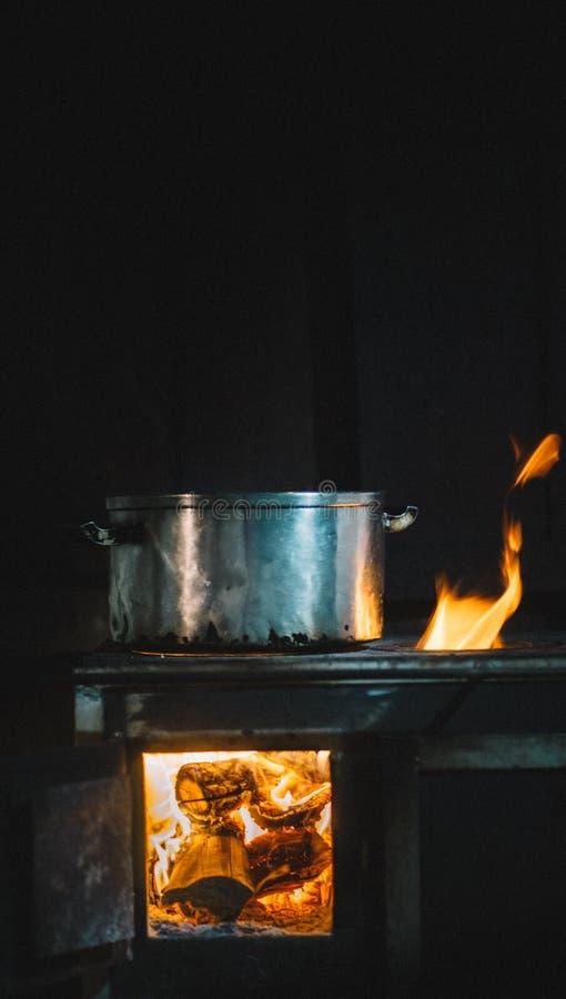 Cocina tradicional paraguaya imagen de archivo libre de regalías