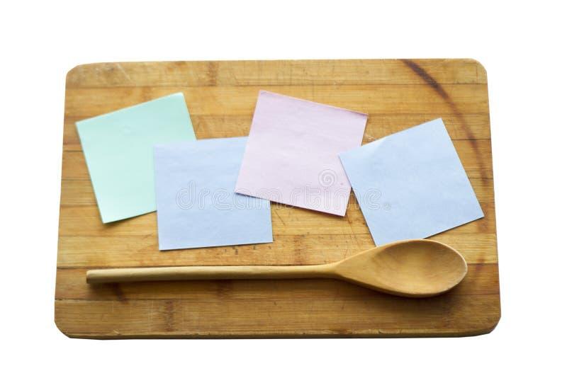 Cocinar al tablero fotos de archivo libres de regalías