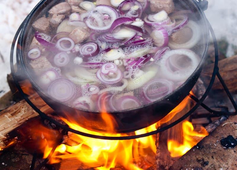 Cocinar Chorba foto de archivo libre de regalías